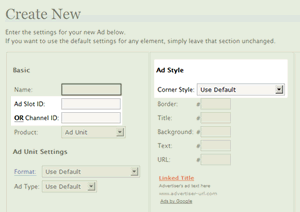 Illustration: AdSense Manager 2.6 - Ad Unit Slots + Rounded Corners