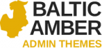 Logo: Baltic Amber Admin Themes & Schemes