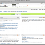 Spring: Dashboard with new comment notification