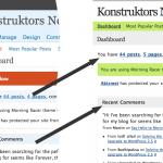 WordPress Default vs. Baltic Amber