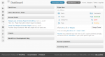 Minimized header area of WordPress 2.7