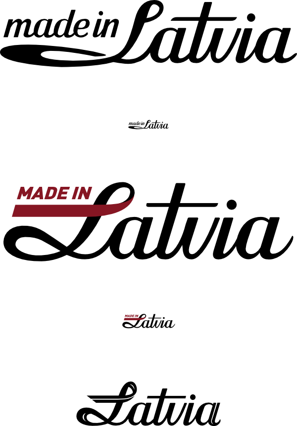 Made in Latvia Label