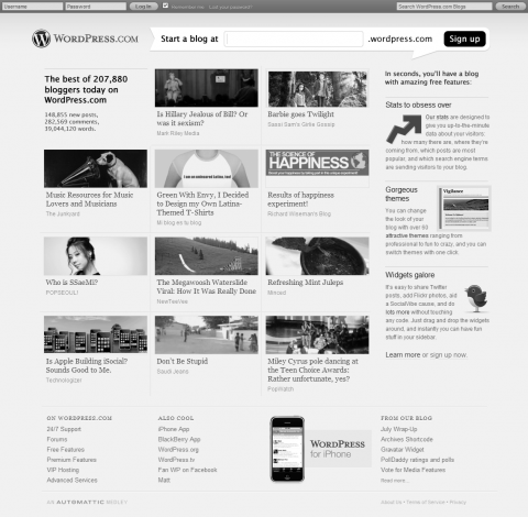 Suggestions for improving WordPress.com redesign
