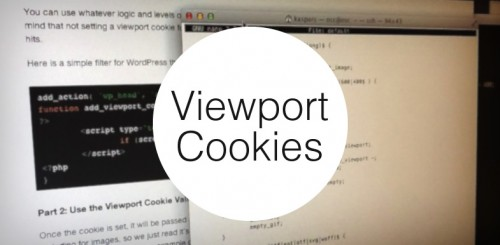 Adaptive Images with Viewport Cookies