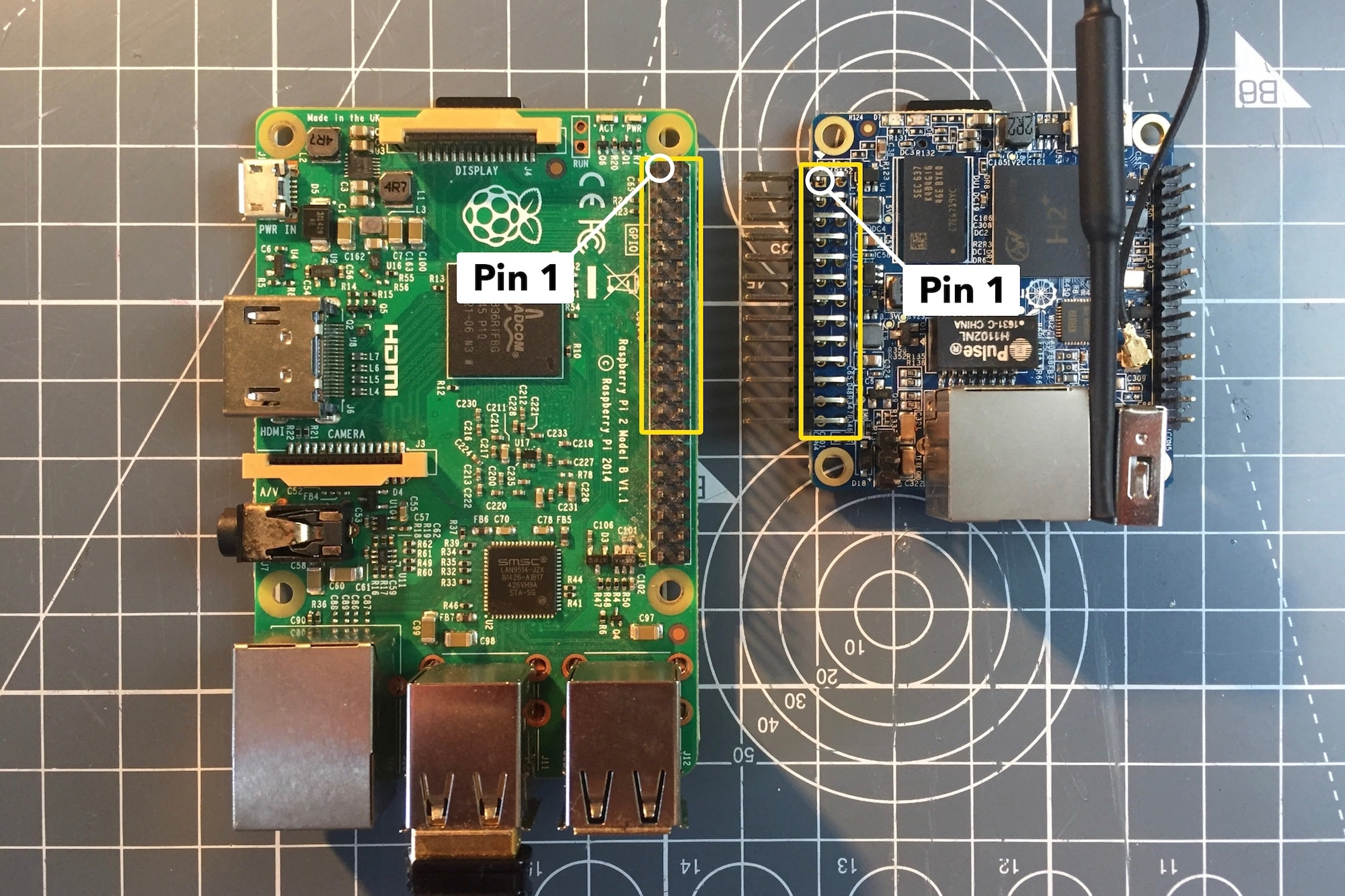 Orange Pi Zero GPIO Pins (Electronics, Linux) — Kaspars Dambis