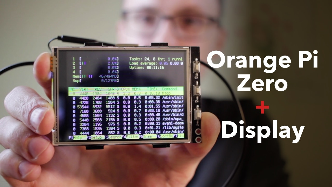 Display For Orange Pi Zero Electronics Linux Video Blog Wiringpi Serial Lcd Kaspars Dambis