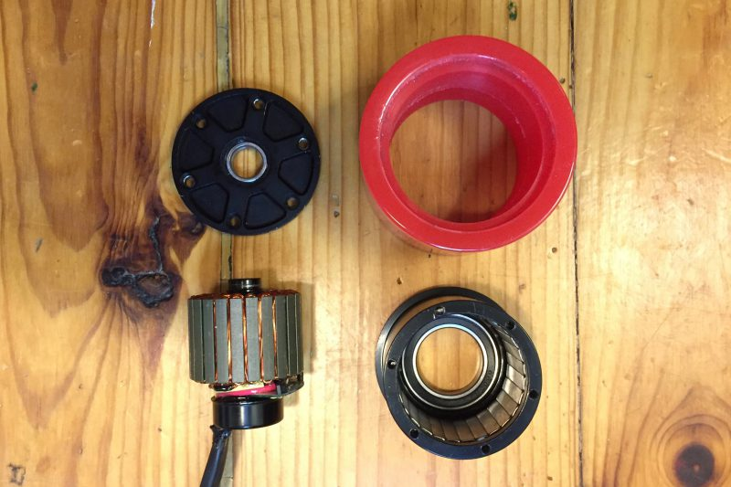 Maytech 70mm Hub Motor Parts, Stator, Rotor, Wheel