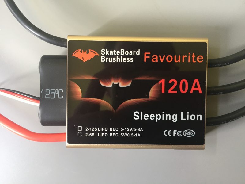 Favourite Sleeping Lion 120A ESC