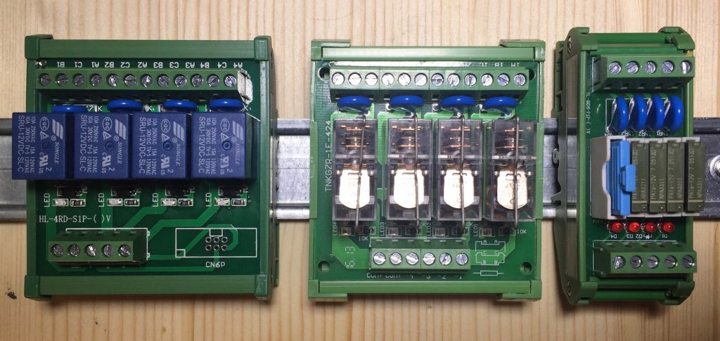 Songle, Omron and Panasonic Relays